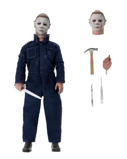"NECA Halloween II 8"" Clothed Michael Myers Action Figure"
